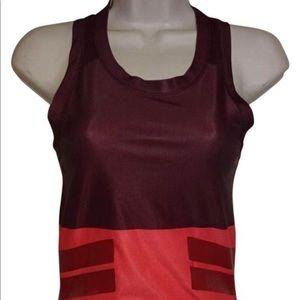 ADIDAS STELLA McCARTNEY TOP Pink/Maroon Activewear